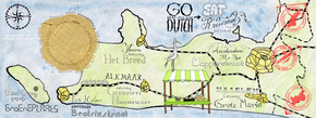 A Kruimel Map of Holland's Outdoor Food Markets
