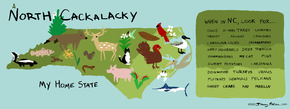North Cackalacky, My Home State