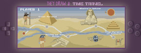 They Draw and Time Travel: Egypt