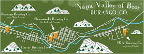 Napa Valley of Beer, Durango, CO.