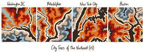 City Trees of the Northeastern US