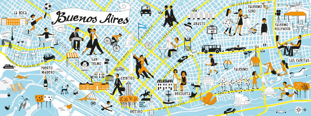 Buenos Aires es una Ciudad Encantadora