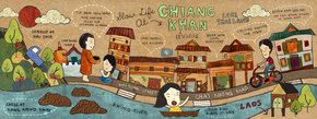 Slow Life in Chiang Khan, Thailand