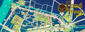 Food on Foot Map of Bangkok