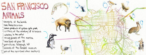 San Francisco Animal Map
