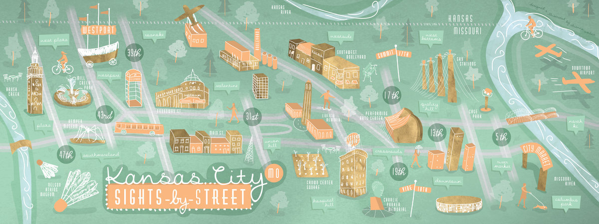 Kansas City, Missouri: City by Street
