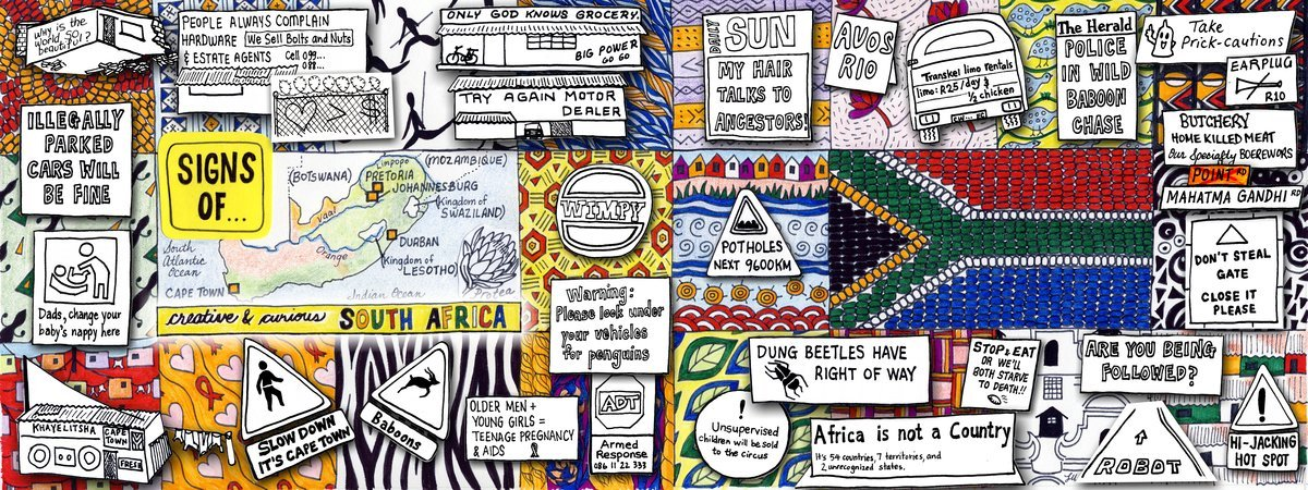 Signs of a Creative and Curious South Africa