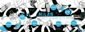 Milano Fashion Week Map