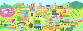 Melton Mowbray, UK: Rural Capital of Food's History!