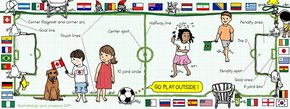 Go Play Outside: Soccer Field Map