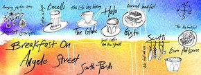 Breakfast on Angelo Street, South Perth, Australia