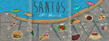 A World of Food in Santos, Brazil
