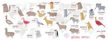 National Animals from Around the World
